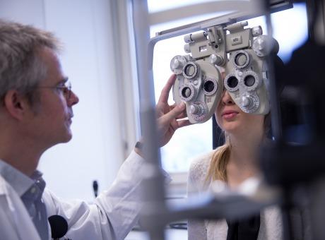 Untersuchung Augenklinik