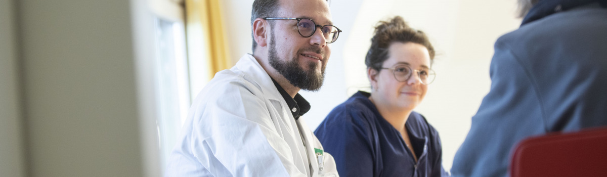 Gespräch Patientin Palliative Care