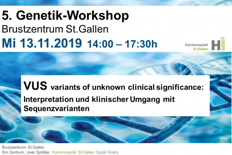 5. St.Galler Genetik-Workshop