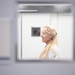Dr. Melanie Lederer, Leitende Ärztin für Anästhesiologie und OP-Managerin